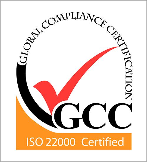 ISO 22000取得